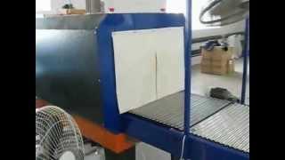 Упаковка полиэтиленом разлитой в тары воды.(Аппарат для упаковки полиэтиленом разлитой в тары воды, поставленный компанией УралУпакИнжиниринг., 2012-09-25T09:01:33.000Z)