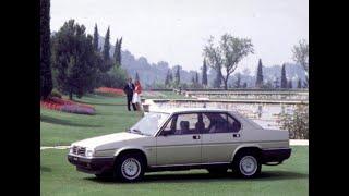 """Alfa Romeo - Progetto """"Alfa 90"""" (1984)"""