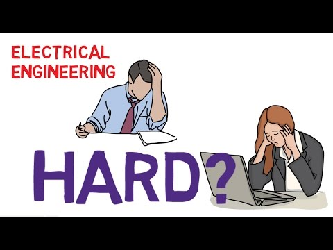 How hard are classes in Electrical Engineering?