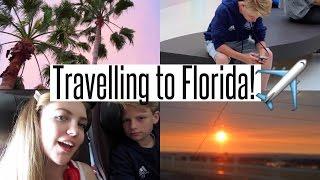 VLOG: Travelling to Florida!