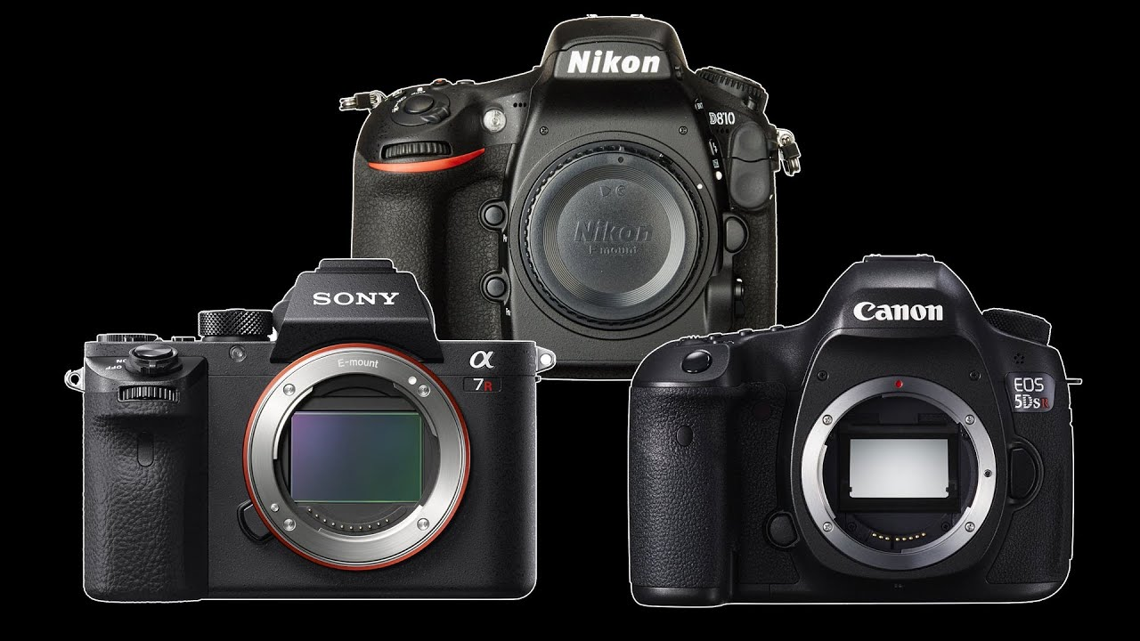 Canon 5DsR vs Nikon D810 vs Sony a7RII - Which Full Frame for ...