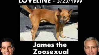 Loveline - James the Zoosexual Calls In (Part 2 of 6)