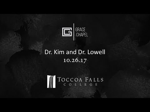 10.26.17 Dr. Kim and Dr. Lowell