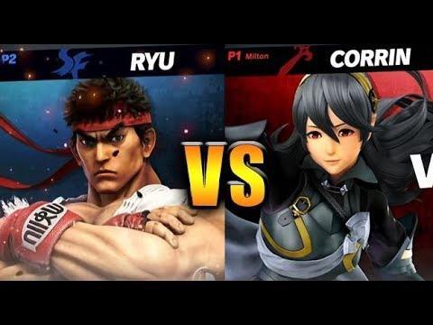 Super Smash Bros Ultimate  Corrin vs Ryu  HD Gameplay