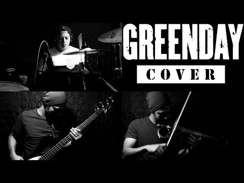 GREEN DAY - Hitchin A Ride ✔(Violin cover by Giorgio Conedera ft Evzdrums)