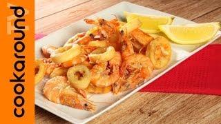 Frittura di gamberi e calamari perfetta / Tutorial facile
