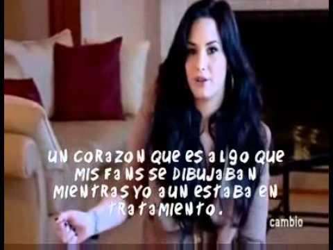 Demi Lovato Significado De Su Tatuaje En Cambiocom Subtitulado En