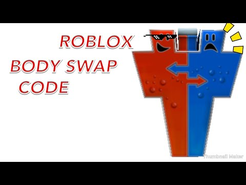 Roblox body swap code - YouTube