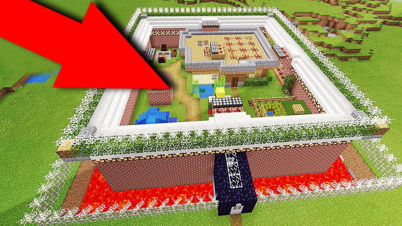 Самый Безопасный Дом в Майнкрафт скачать Карту