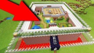 Майнкрафт ПЕ САМЫЙ БЕЗОПАСНЫЙ ДОМ на 100 МЕХАНИЧЕСКИЙ ДОМ для Minecraft PE