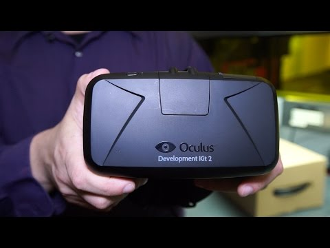 Unboxing the Oculus