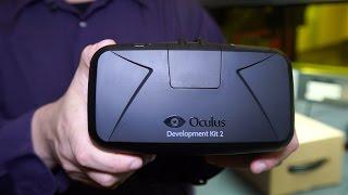 Unboxing the Oculus Rift Development Kit 2 (DK2)