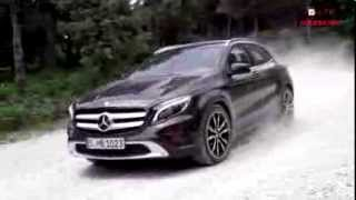 Краткий видео-обзор Mercedes-Benz GLA