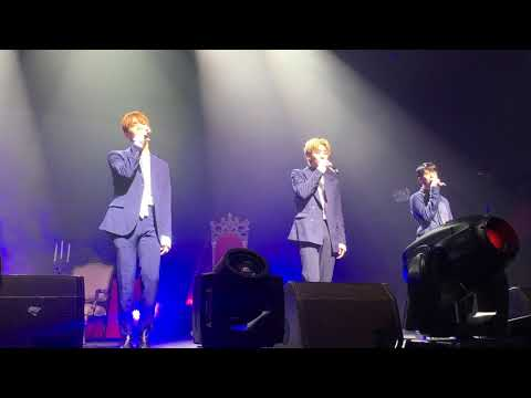 170827 SEVENTEEN (세븐틴) Vocal Team - We Gonna Make it Shine & Don't Listen In Secret (몰래 듣지 마요) @ NYC