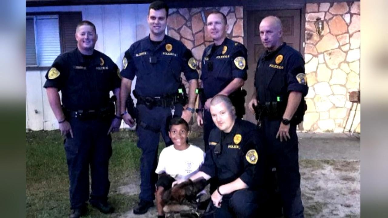 k9-officer-shares-emotional-prayer-with-9-year-old-boy-before-his-brain-surgery