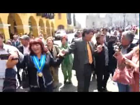 Homenaje Provincia Huarochiri En Palacio De Gobierno