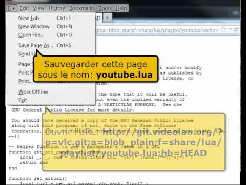 Streaming avec VLC Comment regarder une vidéo YouTube avec VLC
