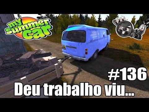 My Summer Car - NUNCA SOFRI TANTO! #136 ‹ Getaway Driver ›