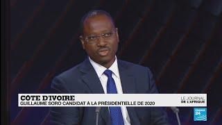 Guillaume Soro, candidat à l'élection présidentielle ivoirienne en 2020
