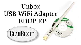 usb wifi adapter edup ep    unbox
