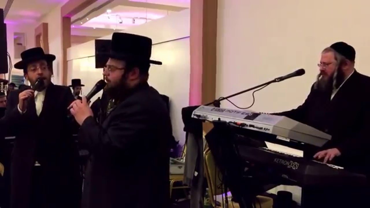Meir Adler and Arela samet and Smuli  Steinmetz and Chaim Kisterboim rocking a wedding part 2
