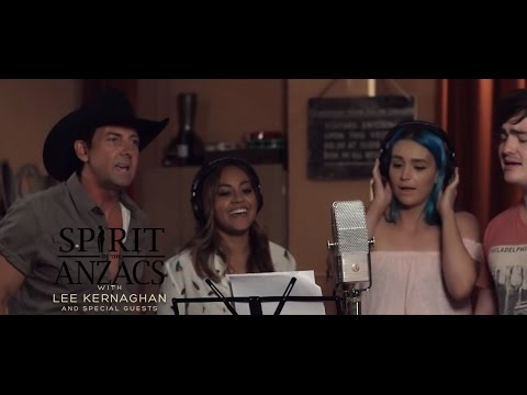 Lee Kernaghan - Spirit Of The Anzacs (Official Music Video)