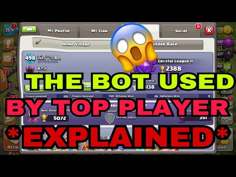 (AUTO-TOUCH) FIRST 500XP LEVEL PLAYER IN COC! | SECRET REVEAL WITH PROOF AND APP NAME!