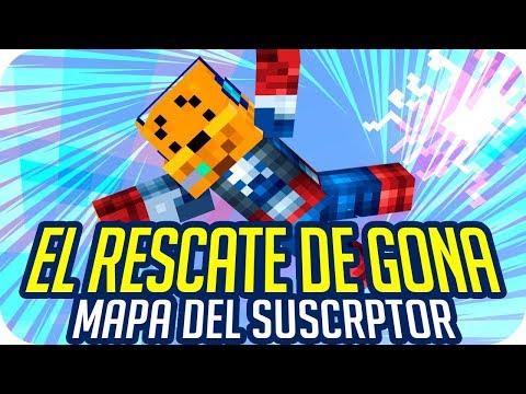 EL RESCATE DE GONA! | ESPECIAL Minecraft Mapa del Suscriptor - Luh