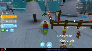 Snowman Simulator Roblox Live | Road to 500 subs|