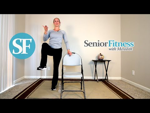 Senior Fitness Full Body Workout | Posture Balance and Stretch