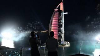 Año nuevo 2014 Dubai - Burj Al Arab - Mario Millán - Fernando Romero