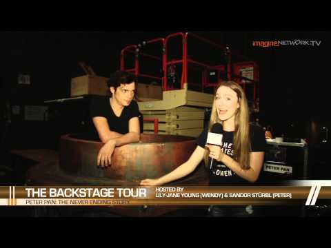 Peter Pan: The Never Ending Story - Backstage tour