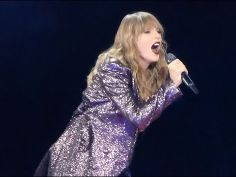 Taylor Swift - Getaway Car (live) part 1 - Reputation Stadium tour
