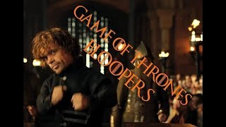 Game Of Thrones Bloopers and Behind the scenes
