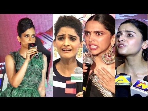 bollywood-celebs-best-reaction-on-kangana-ranaut-fight-with-media-|-parineeti-chopra-|-sidharth-m