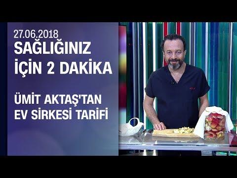 Dr. Ümit Aktaş'tan pratik ev sirkesi tarifi
