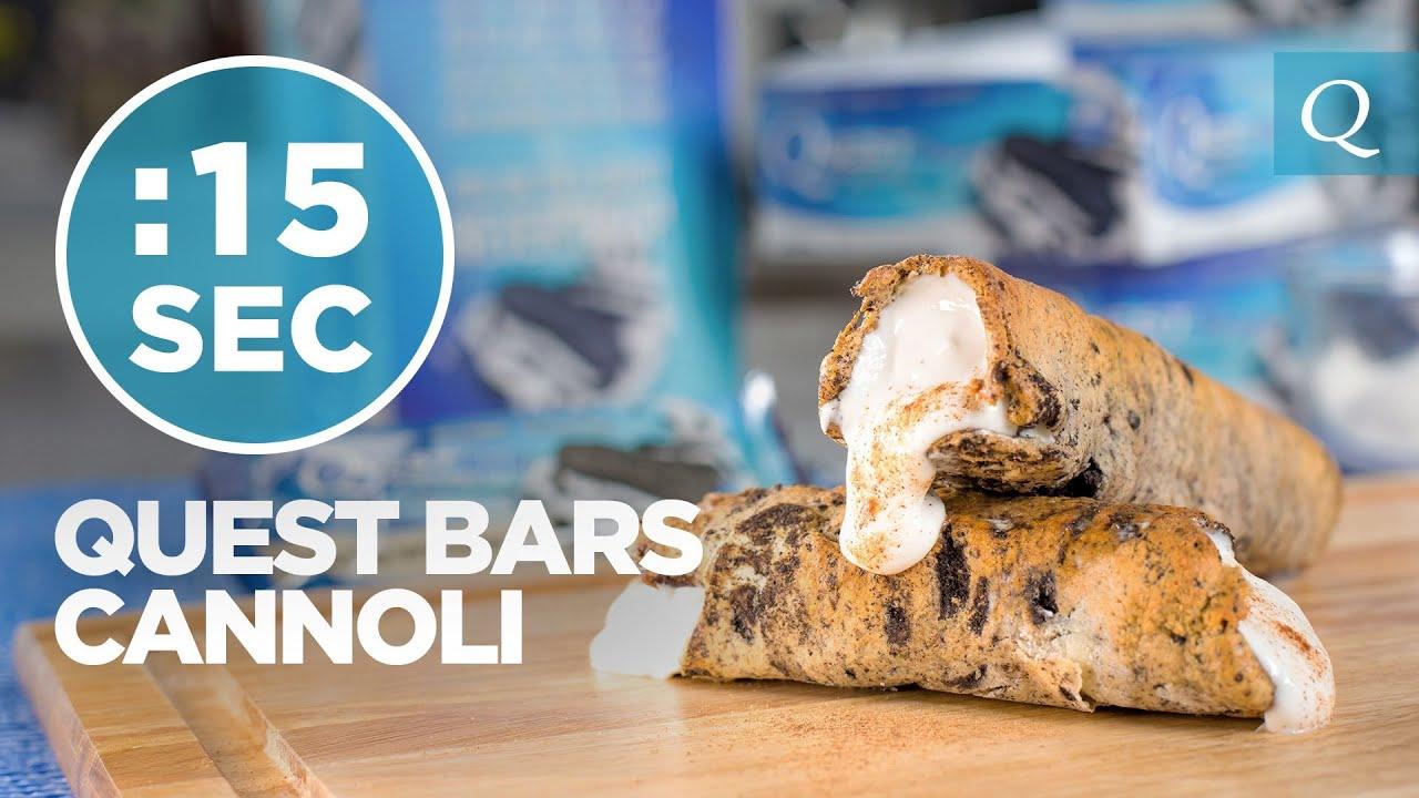 Healthy Cannoli Recipe - #15SecondRecipe - YouTube