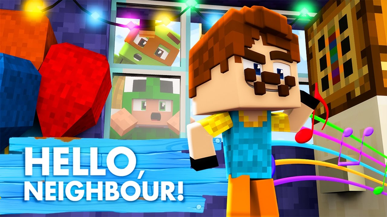 Download Minecraft Baby Hello Neighbour - CRIMINALS IN THE NEIGHBOURS HOUSE!?