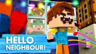 Minecraft Baby Hello Neighbour - CRIMINALS IN THE NEIGHBOURS HOUSE!?