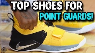Top 10 Best Basketball Shoes for Point Guards!