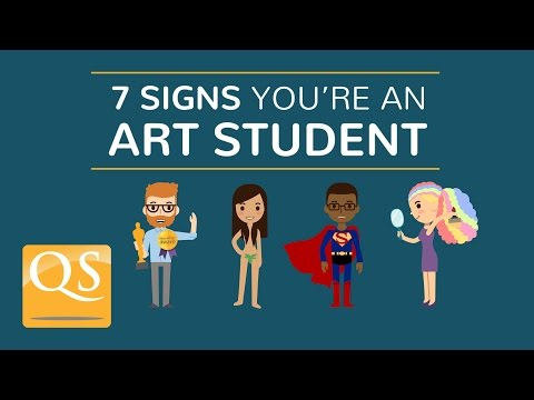 How Much Of A Stereotypical Art Student Are You Watch The Video For Few Home Truths About Your Degree