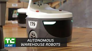 Boston-based Locus Robotics builds autonomous warehouse robots.