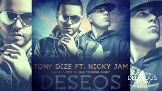 Download Tony Dize Ft. Nicky Jam - Deseos [Reggaeton 2015] MP3 song and Music Video