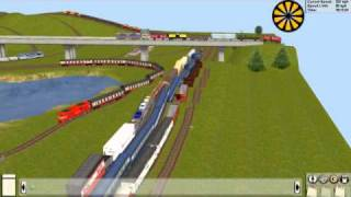Most ridiculous Trainz layout ever!