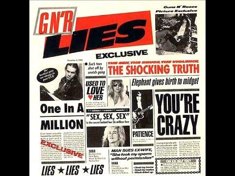 Guns N' Roses – You' re Crazy (1988)