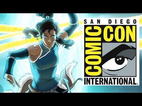 The Legend of Korra Book 2 Spirits Full Panel - Comic Con 2013