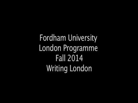 Fordham University London Programme Fall 2014