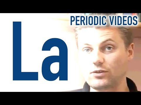 Video image: Lanthanum - Periodic Table of Videos