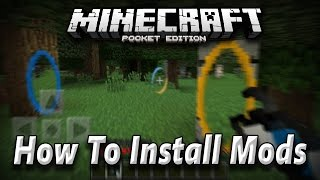 0 13 0 how to install mods in minecraft pe pocket edition android