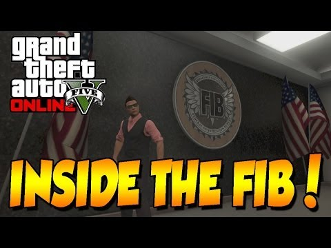 GTA 5 ONLINE GET INSIDE FIB UNDESTROYED BUILDING! SECRET LOCATION!!